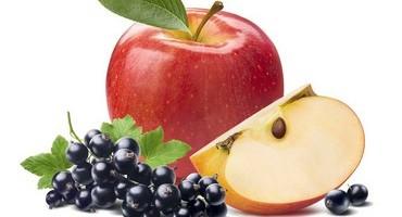 Заготовка смородины черной и яблок